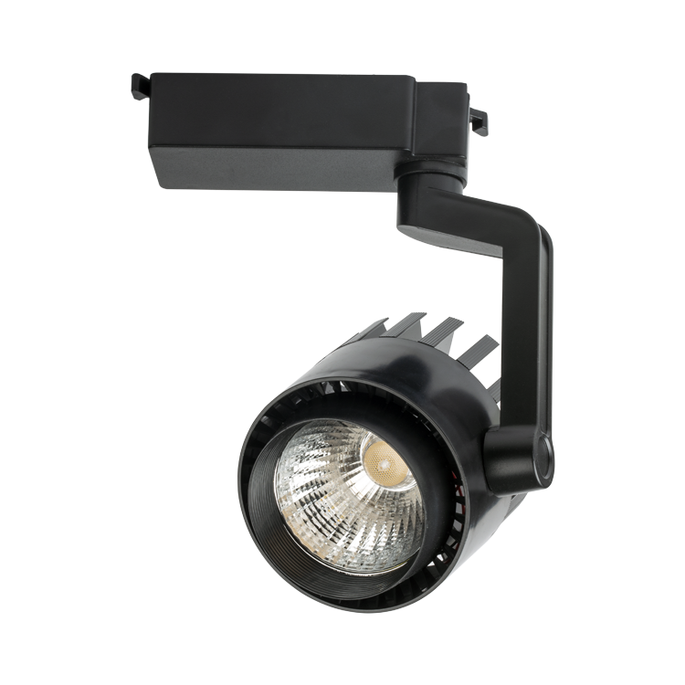 NOAS 35W Black Case Marseille LED Track Spot with 6500K White and 3200K Daylight color options at www.noas.com.tr.