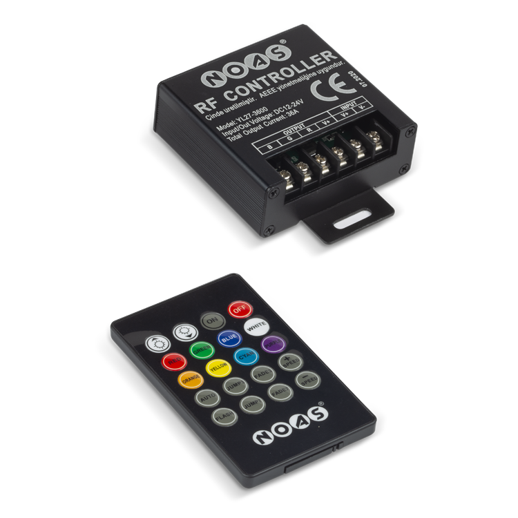 NOAS DC 12-24V 36A RGB Controller is at www.noas.com.tr with the best price options.
