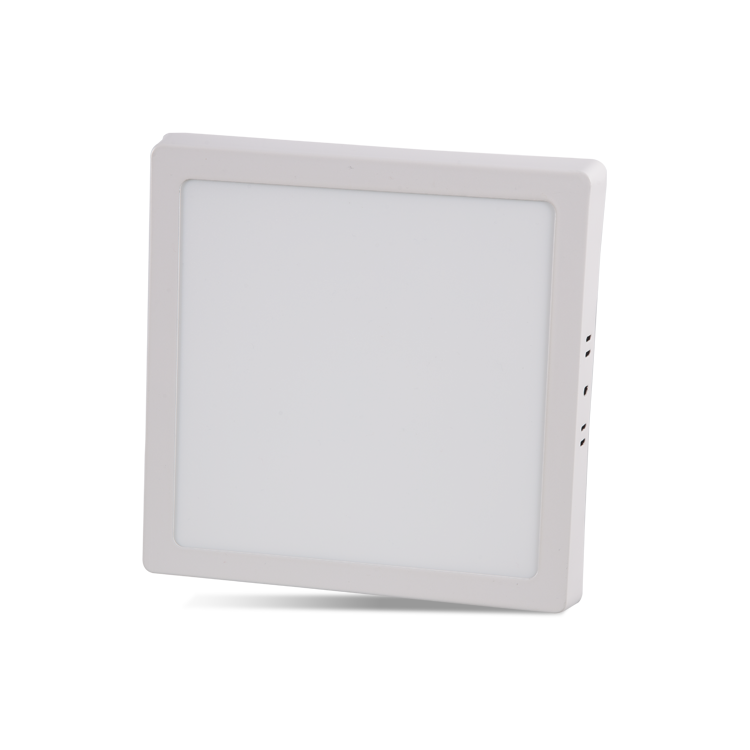 18W Surface Mounted Square LED Panel with 6500K White and 3200K Daylight color options at noas.com.tr
