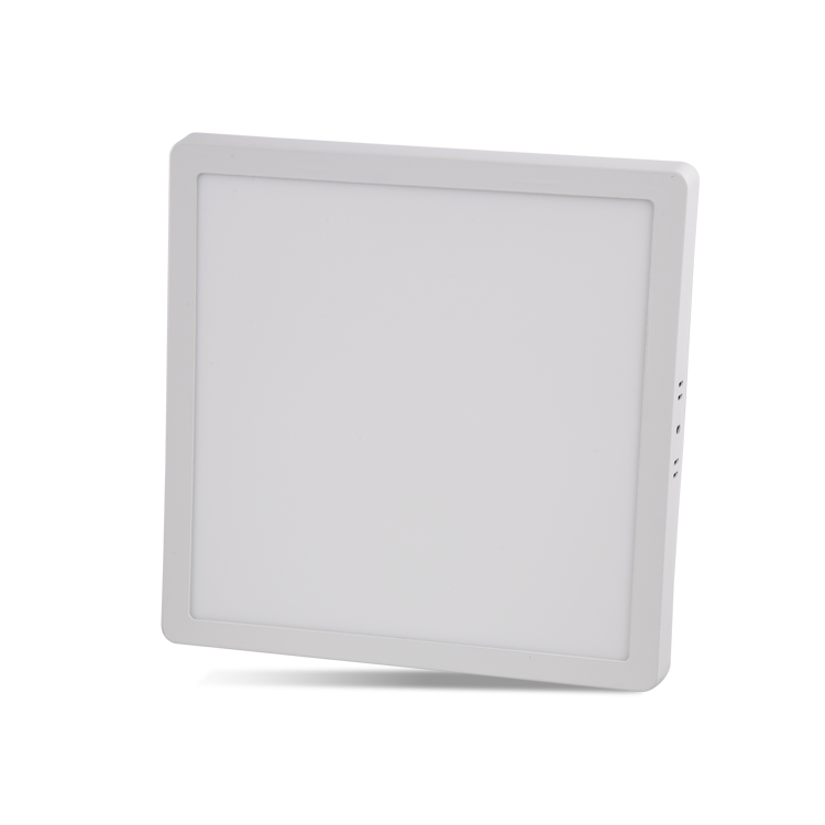 24W Surface Mounted Square LED Panel with 6500K White and 3200K Daylight color options at noas.com.tr