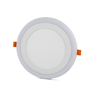 12+4W Recessed LED Panel with White and Blue color options at noas.com.tr