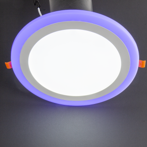 18+6W Recessed LED Panel with White and Blue color options at noas.com.tr