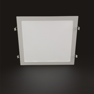 24W Recessed Square LED Panel with 6500K White and 3200K Daylight color options at noas.com.tr