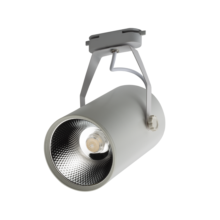 NOAS 35W White Case Cannes LED Track Spotlight is available at www.noas.com.tr with 6500K White and 3200K Daylight color options.